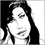 dessin amy winehouse