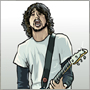 dessin foo fighters