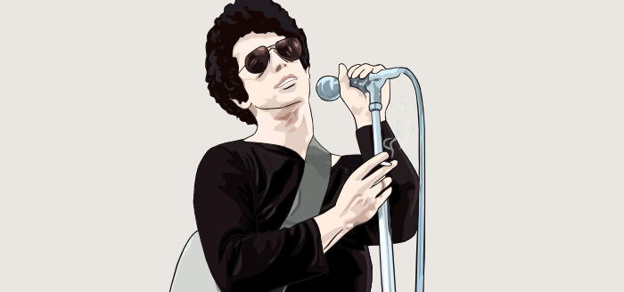portrait lou reed