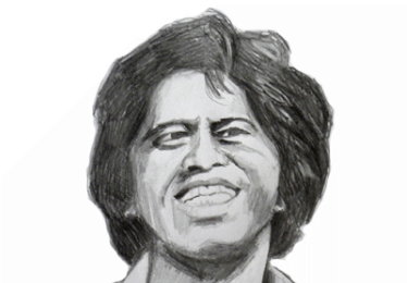 portrait james brown