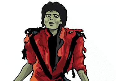 michael jackson illustration
