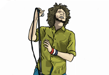 rage against the machine illustration