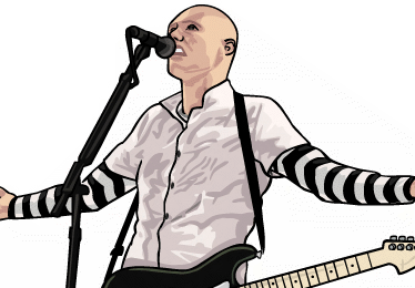 illustration smashing pumpkins