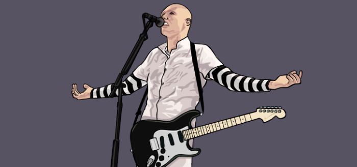 portrait billy corgan