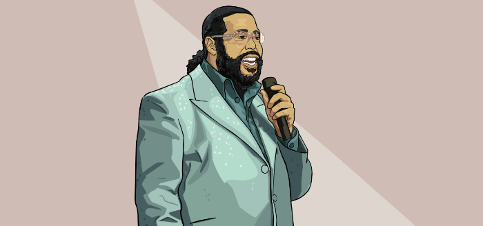 barry white portrait