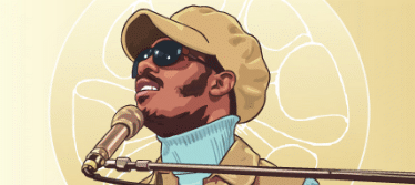 stevie wonder dessin